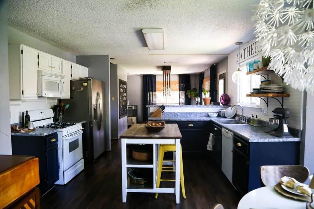 Affordable budget DIY kitchen makeover