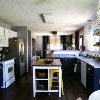 Affordable budget DIY kitchen makeover