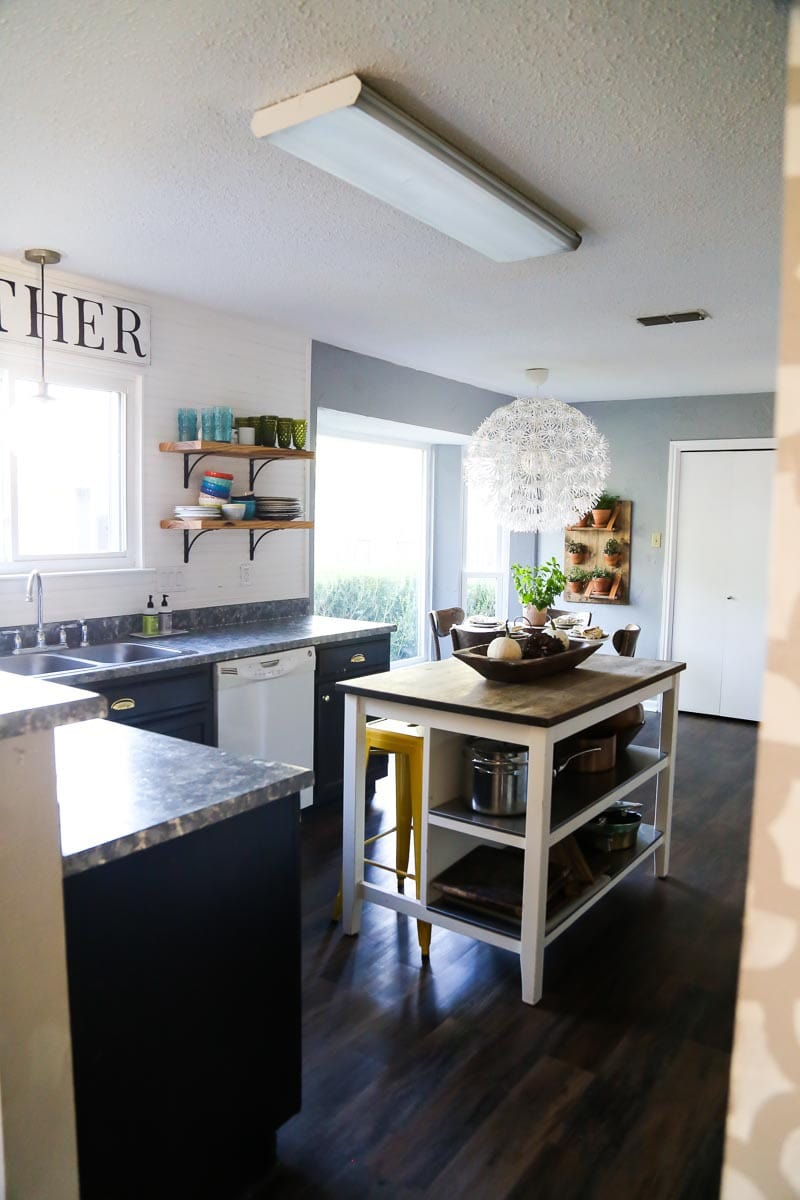 DIY affordable kitchen makeover