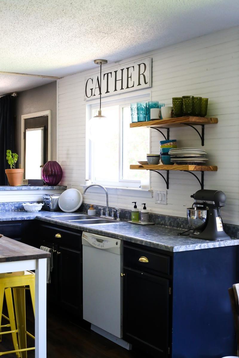 DIY budget kitchen renovation