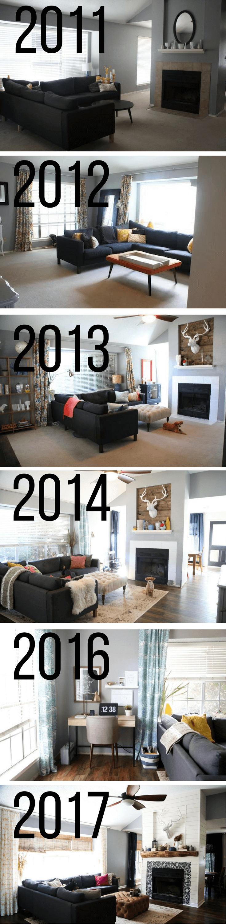 Before And After Living Room Renovation   Photos Of A Living Room  Transformation