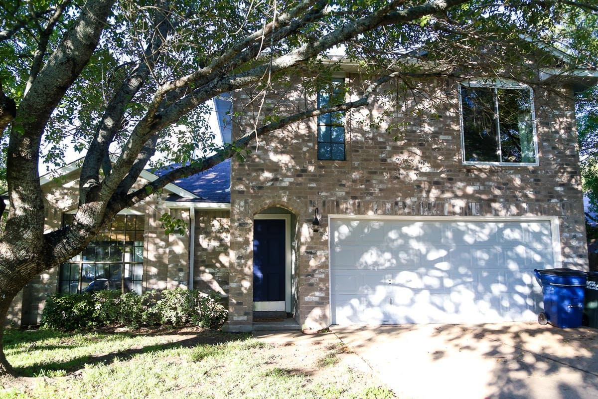 Painting house exterior before and afters