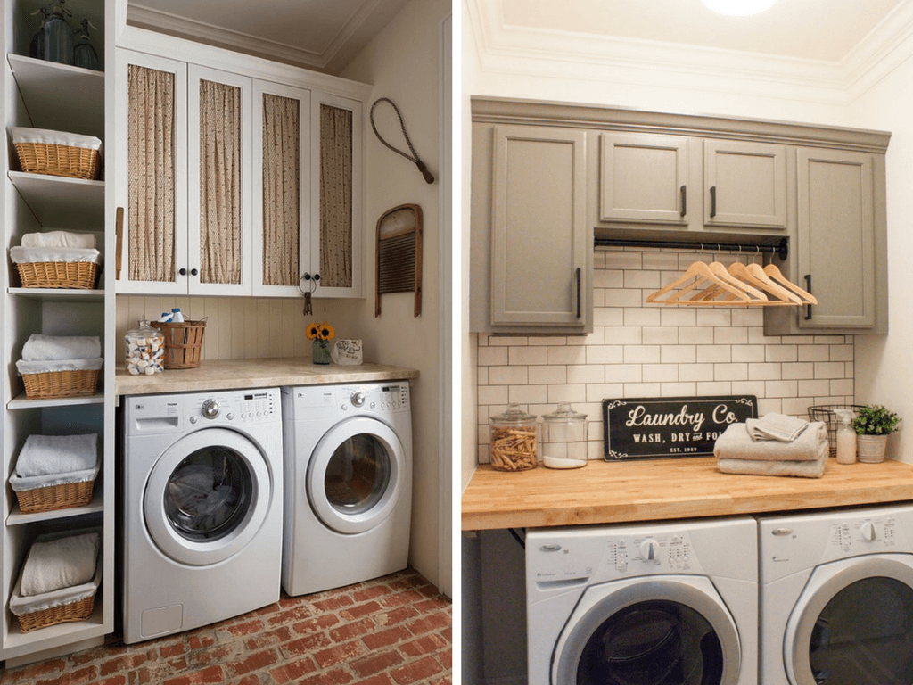 Small Laundry Room Inspiration