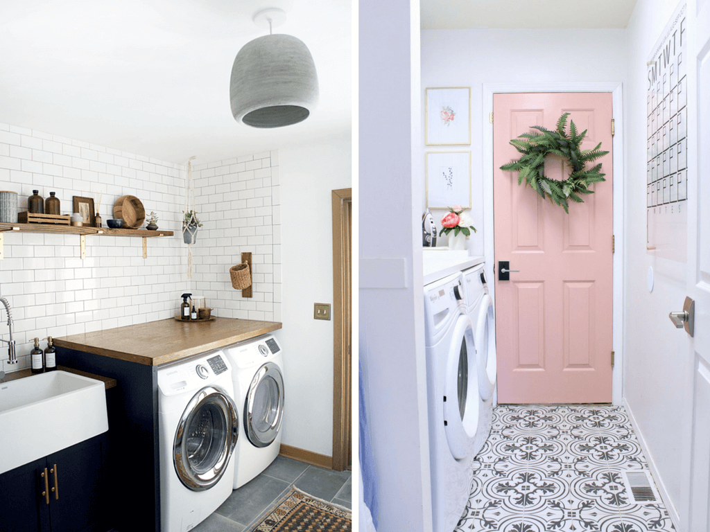Ideas For Smaller Laundry Room