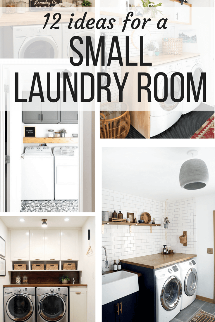 Laundry room ideas 12 ideas for small laundry rooms for Diy room decor ideas you never thought of