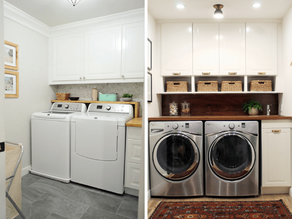 Laundry room ideas 12 ideas for small laundry rooms for Laundry room plans