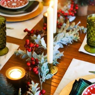 Gorgeous Christmas tablescape