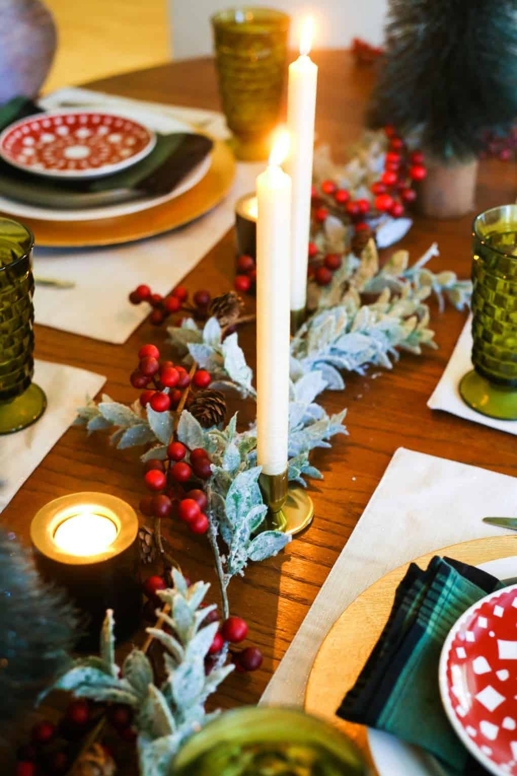 Gorgeous Christmas tablescape