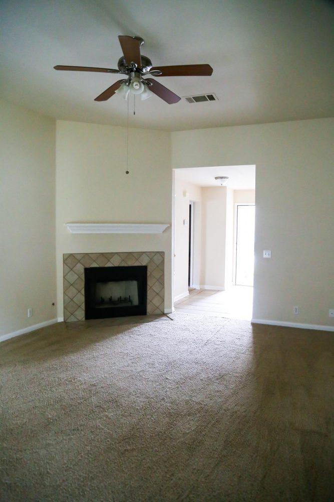 New house tour - living room