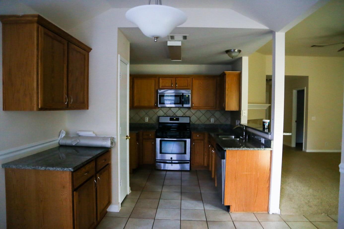new house tour - kitchen