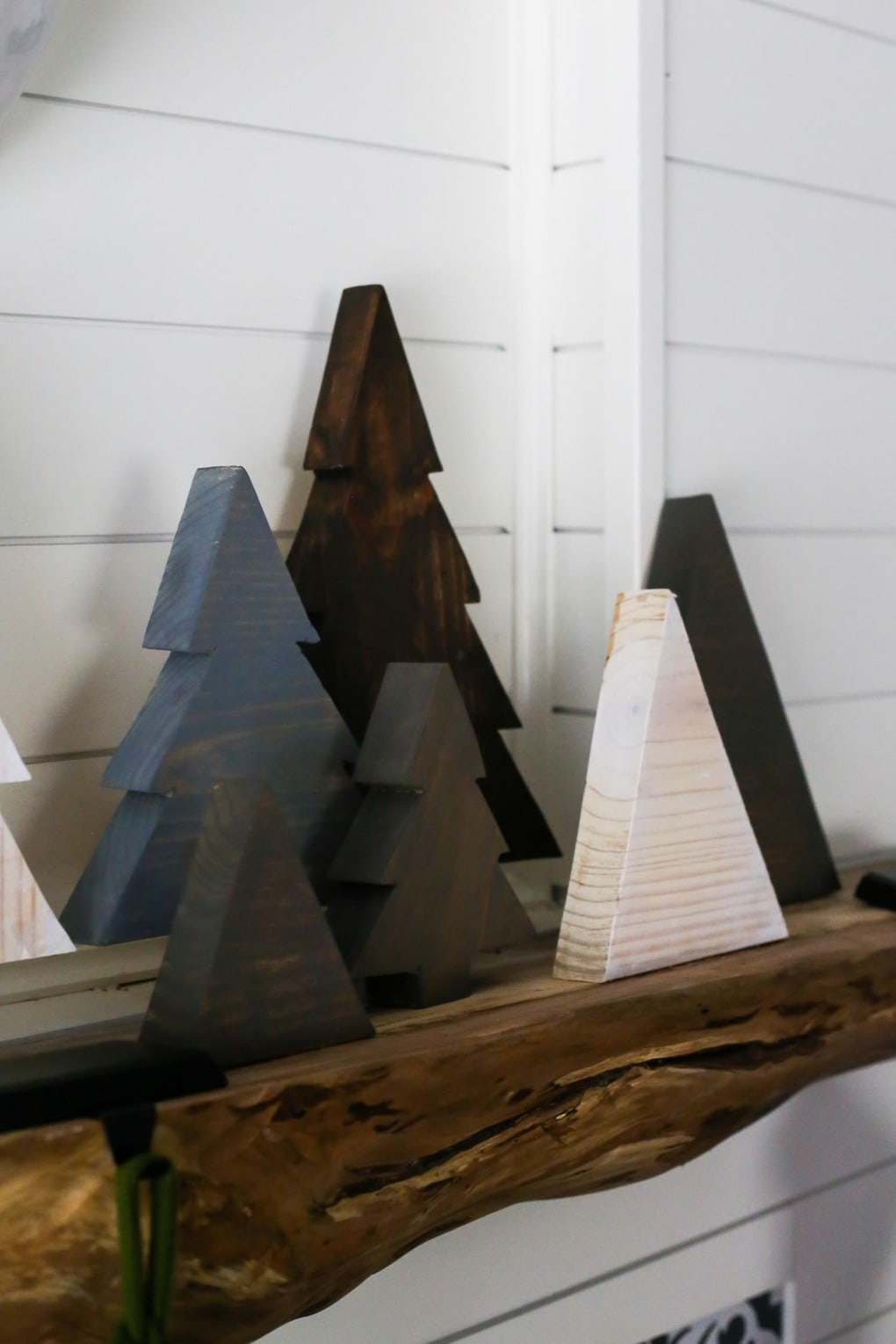 Easy and simple scrap wood Christmas trees