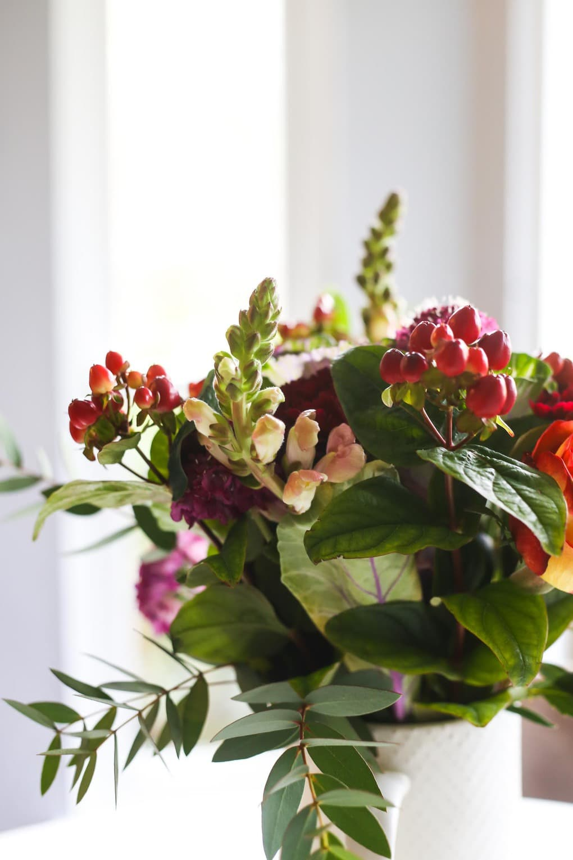 Flower arranging tips for fall