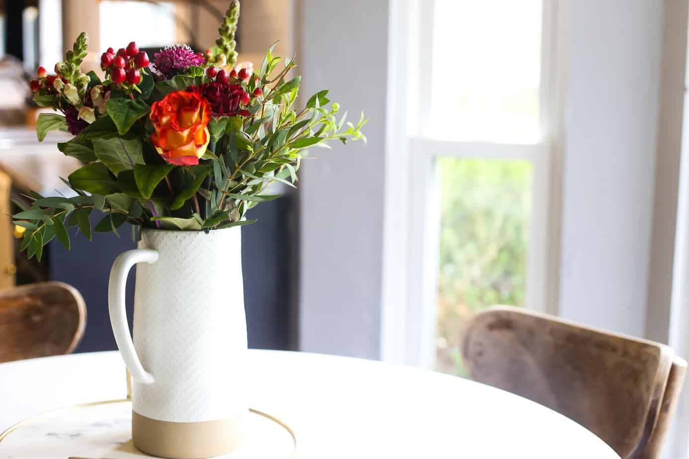 Flower arrangement tips back to basics love renovations
