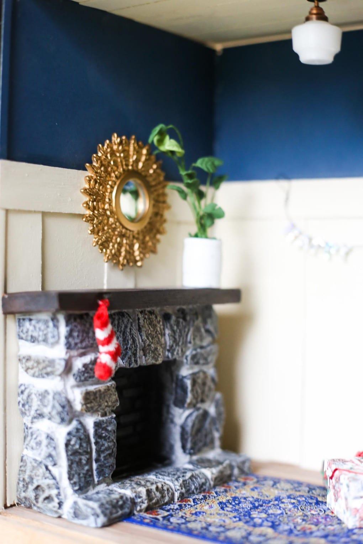 DIY miniature Christmas