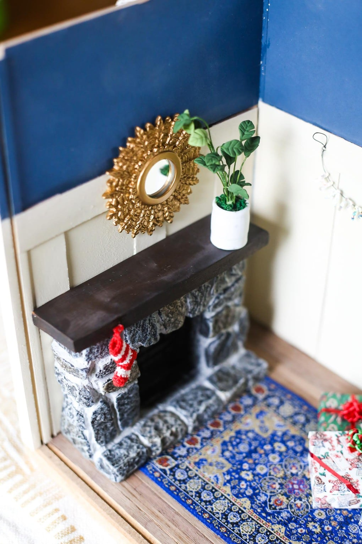 Miniature room for Christmas