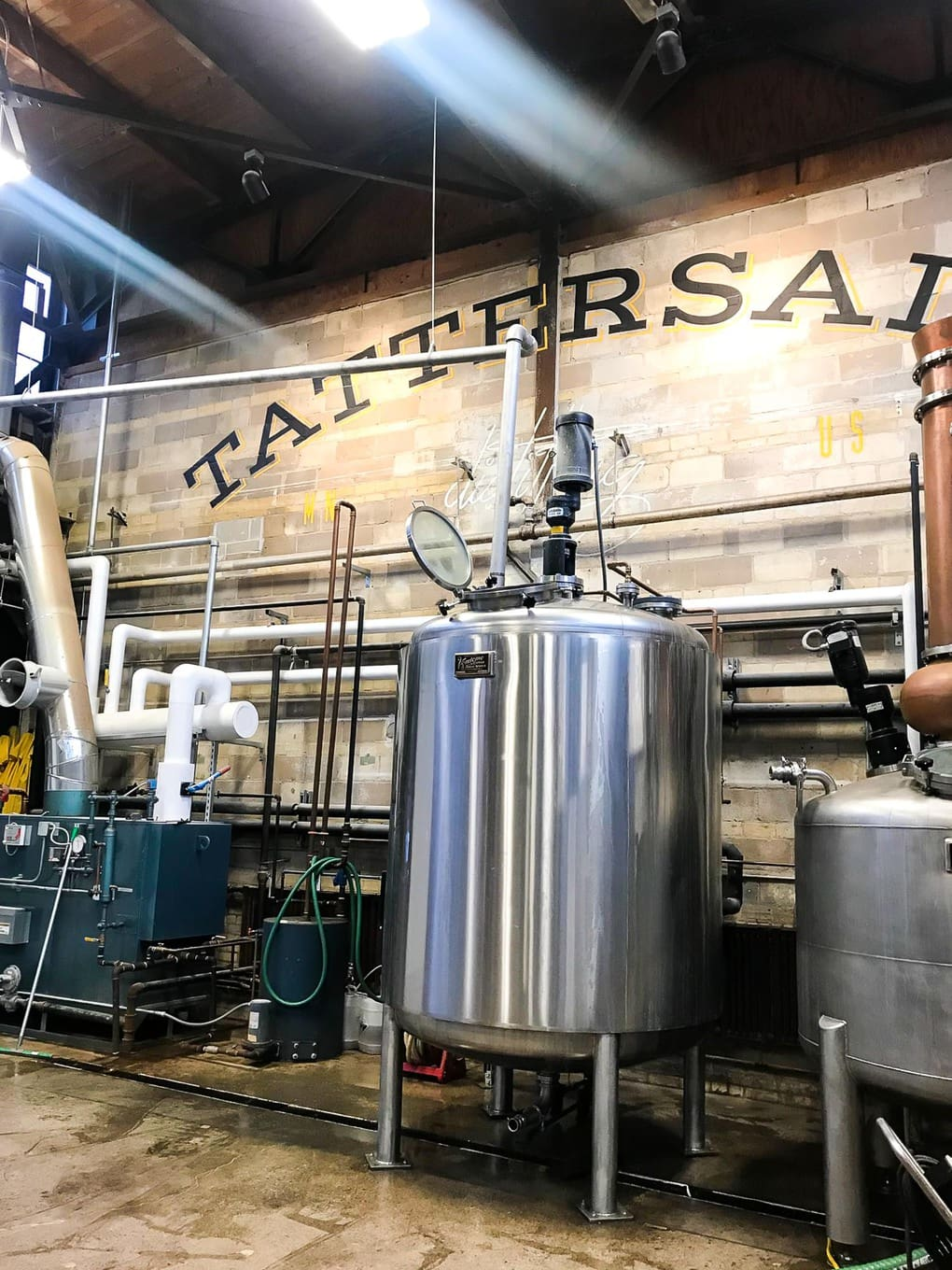 Tattersall Distilling in Minneapolis