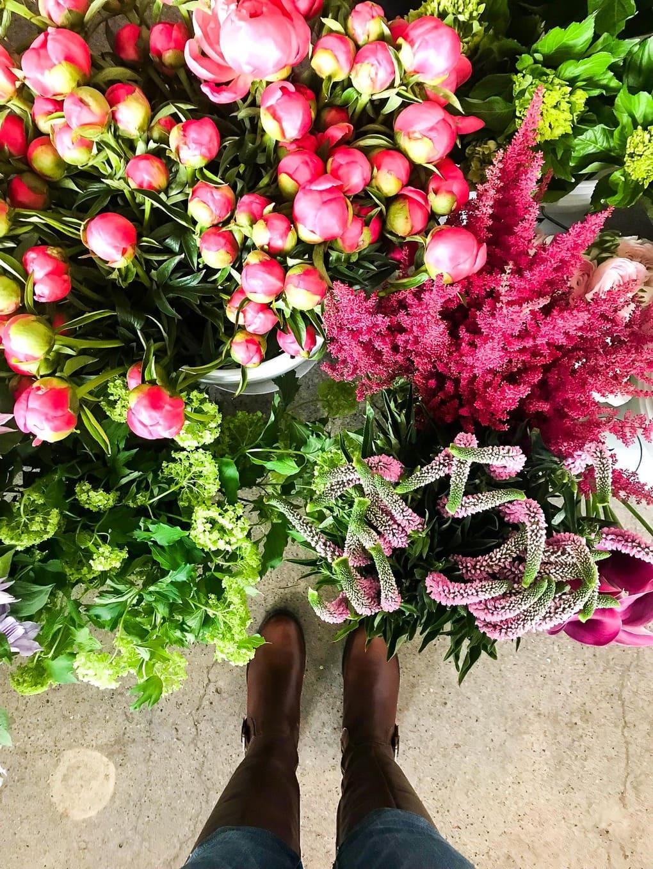 Flower arranging workshop