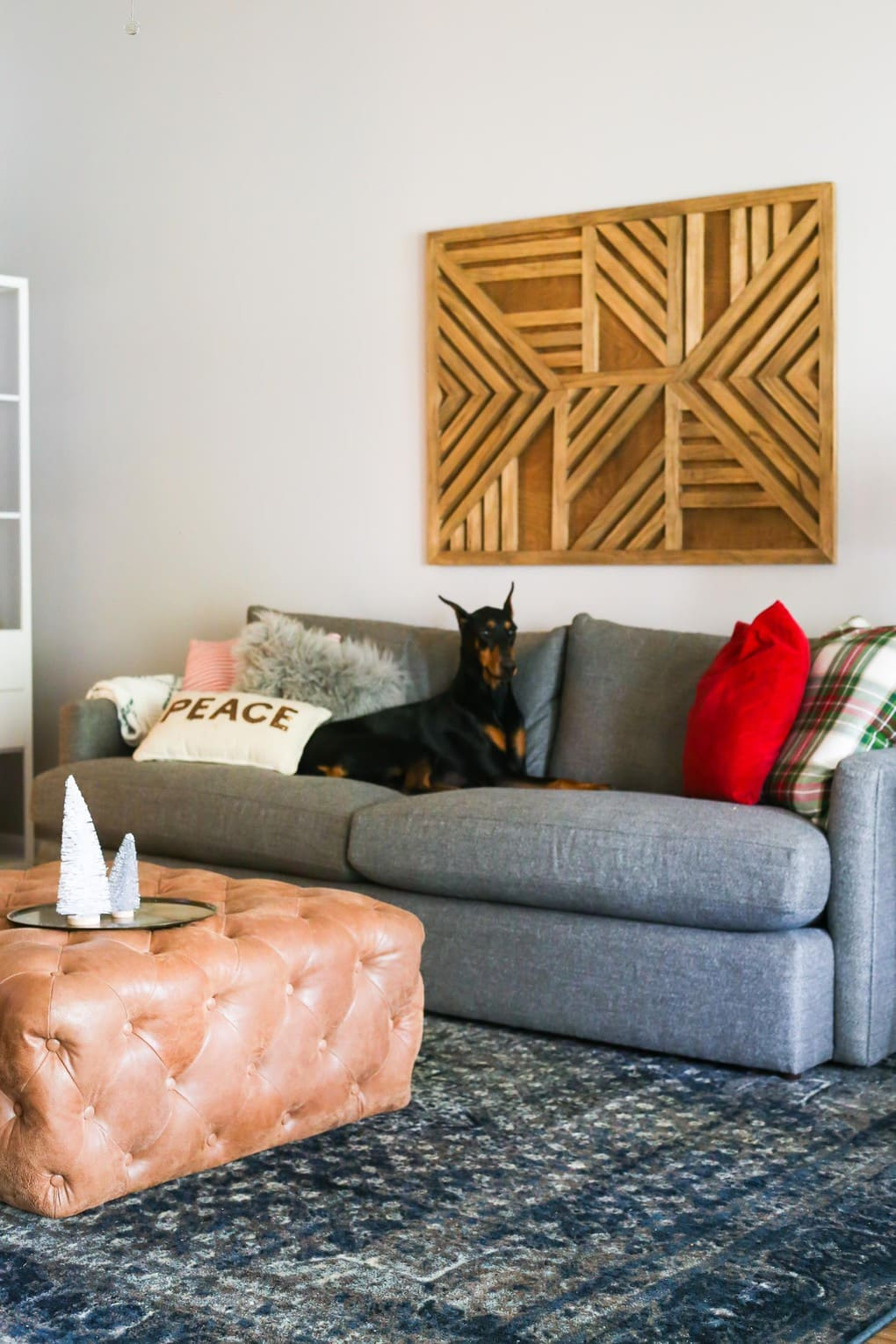 Brand-new Our Big Comfy Couch: A Crate & Barrel Lounge II Sofa Review WA35