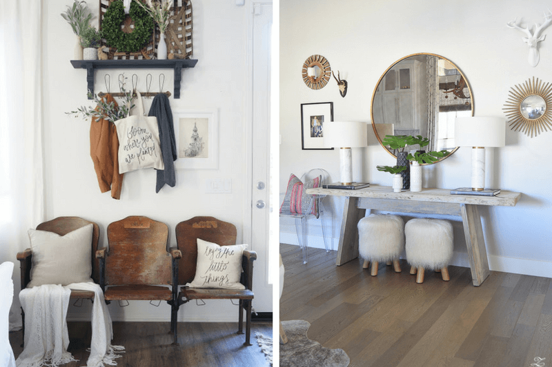 Entryway Decor Ideas - Tips for a Beautiful Entry // Love & Renvoations