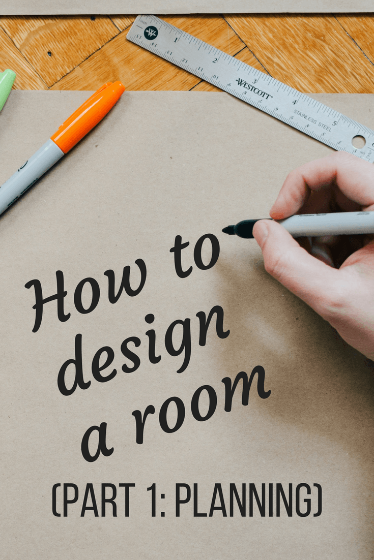 Tips for designing a room from start to finish - a look at the design plan and how to begin planning a room makeover. Part one on planning a new room design.