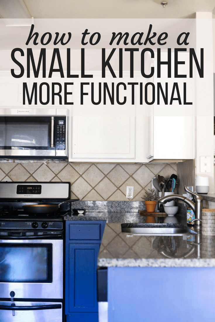 5 quick tips for organizing a small kitchen | love & renovations