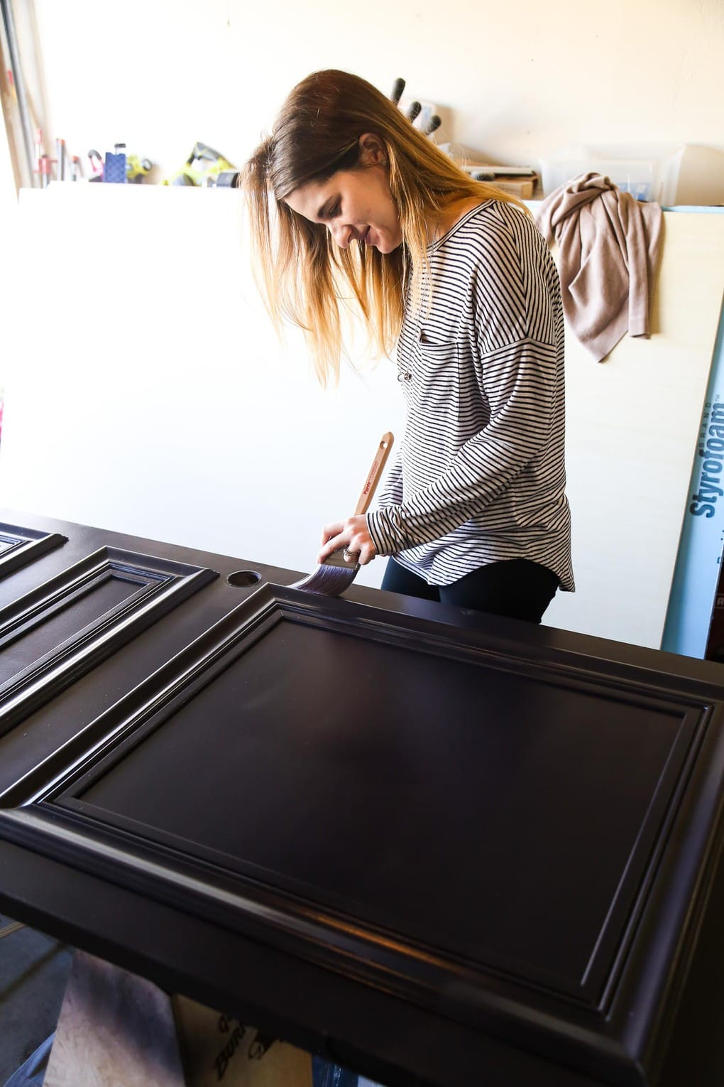 How To Turn A Hollow Core Door Into Custom Paneled Paint For Diy