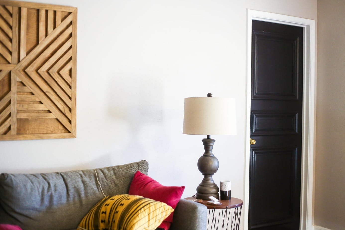 ... How to make a beautiful DIY paneled door & DIY Door Panels - Easy DIY 3-Paneled Interior Door // Love \u0026 Renovations