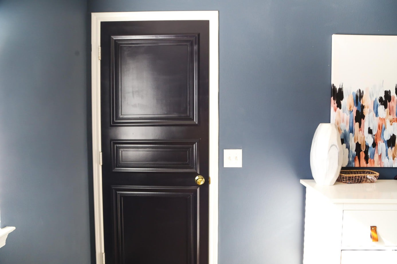 DIY paneled door tutorial