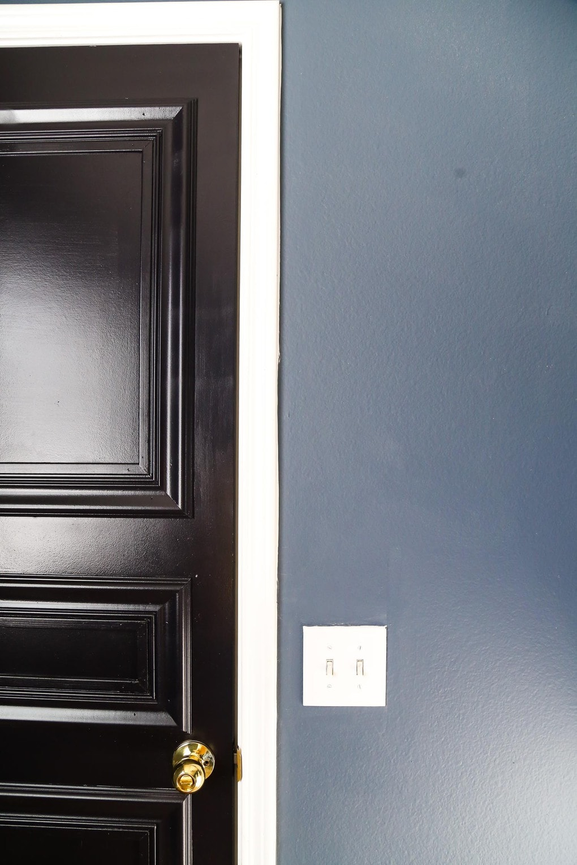 DIY Door Panels - Easy DIY 3-Paneled Interior Door // Love ...