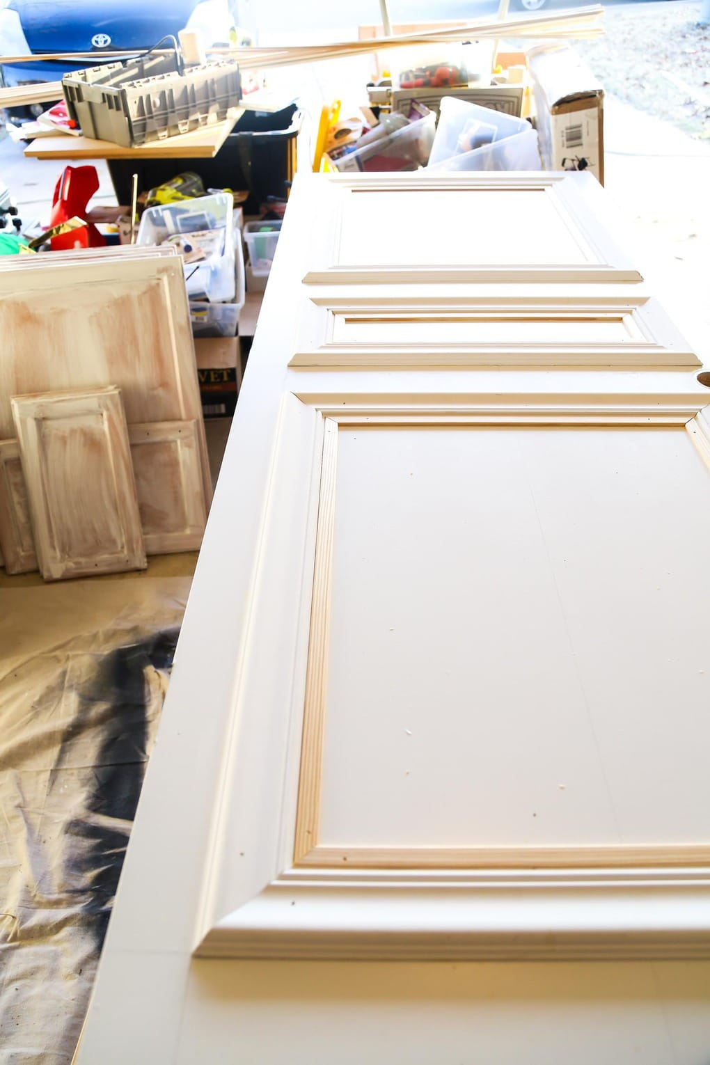 How to make a DIY paneled door