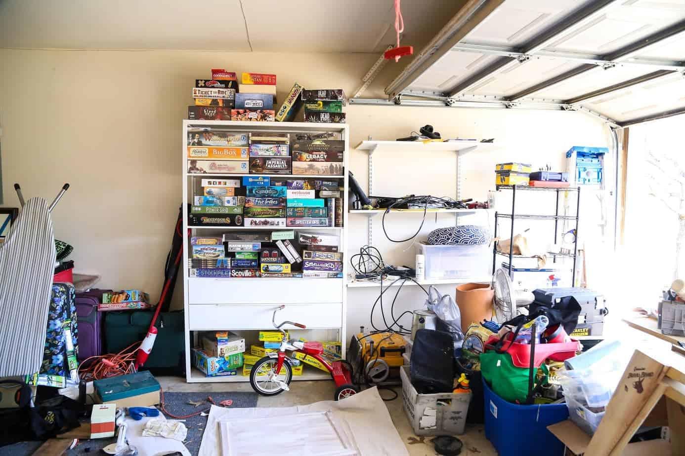 Garage organization and planning
