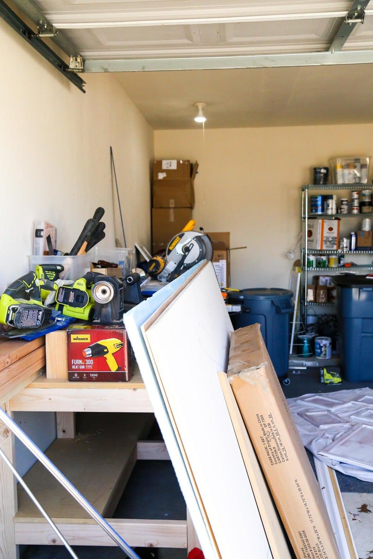 Turning garage into a workshop