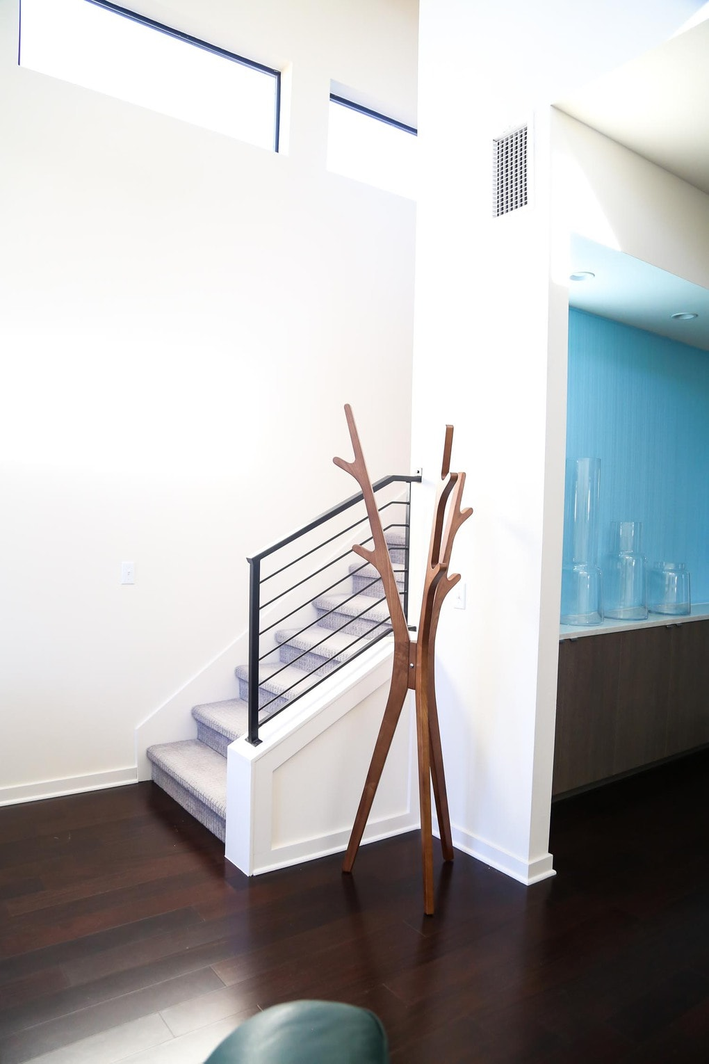Starlight Village Homes Austin - a beautiful staircase