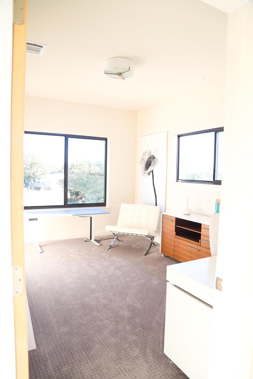 Midcentury modern office design