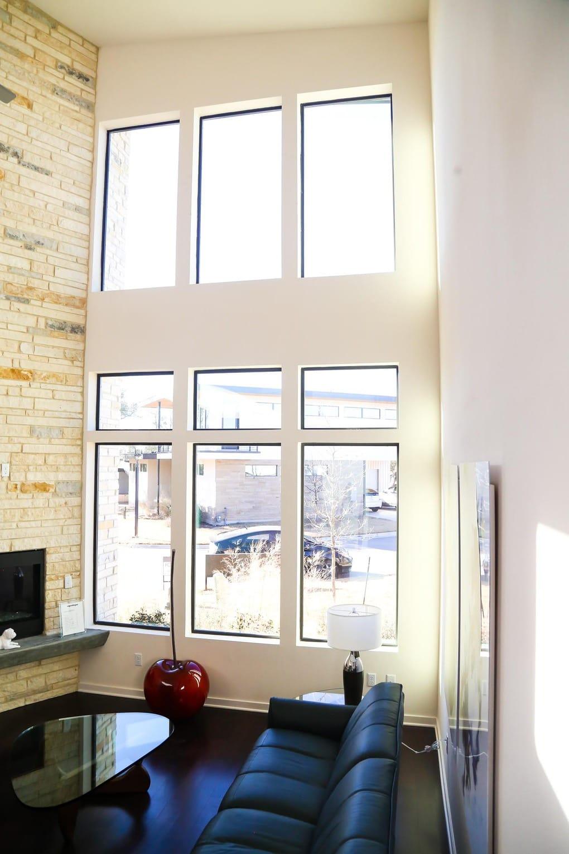 Gorgeous midcentury modern home at the Starlight Village development in Austin, TX
