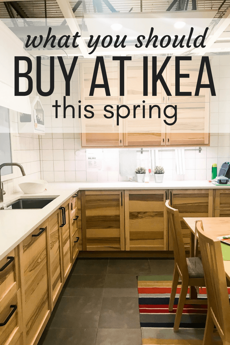 The best products you should buy at IKEA this spring - a roundup of some of the beautiful options that will add a ton of style to your home!