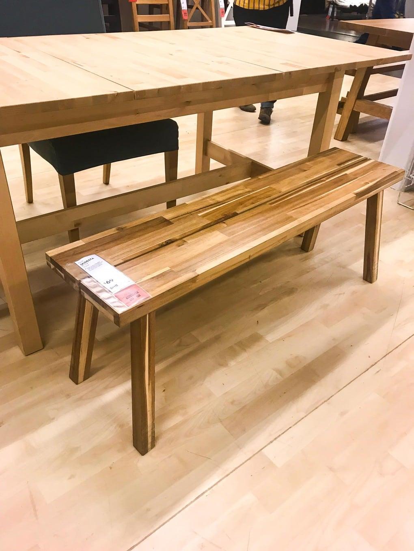 Gorgeous IKEA bench