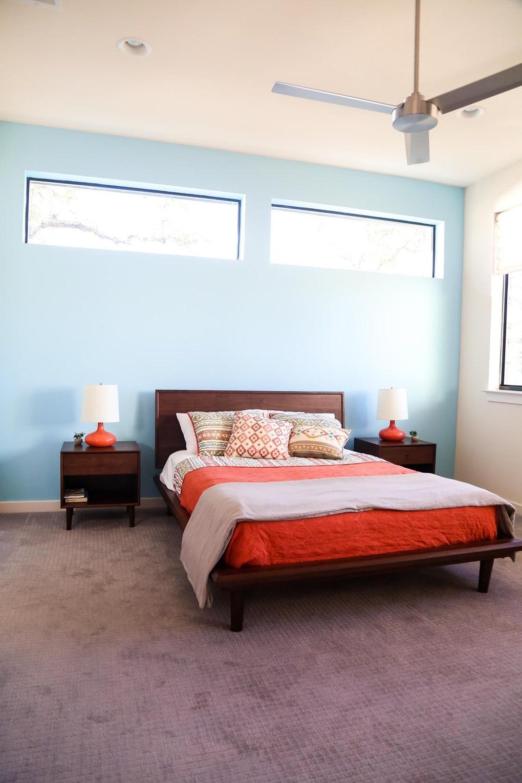 Gorgeous midcentury modern bedroom