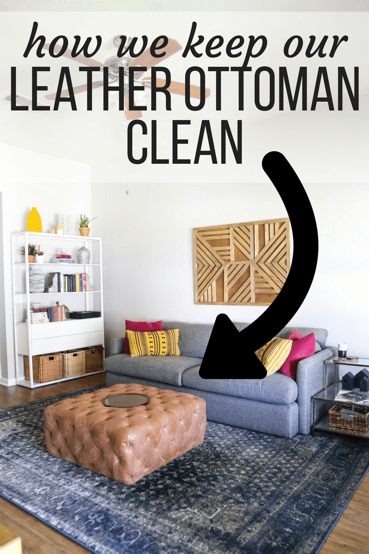 How to keep leather furniture clean - easy routine for cleaning leather furniture