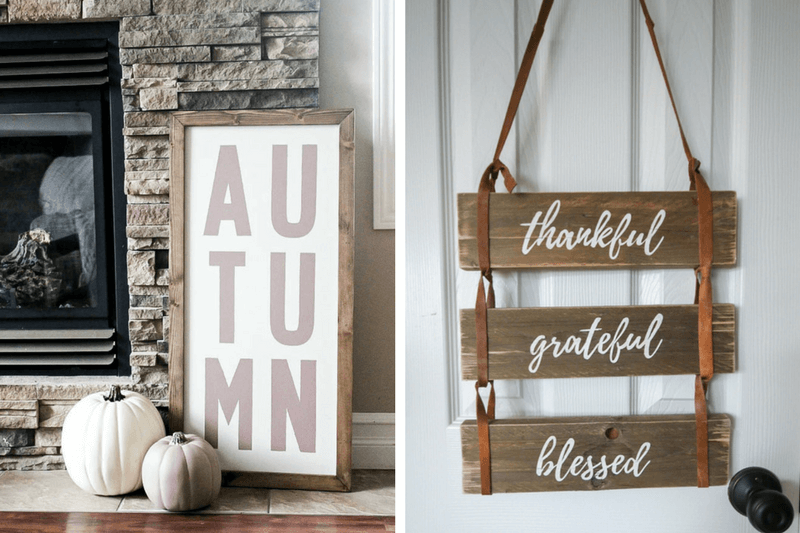 Quick and easy DIY fall decor ideas