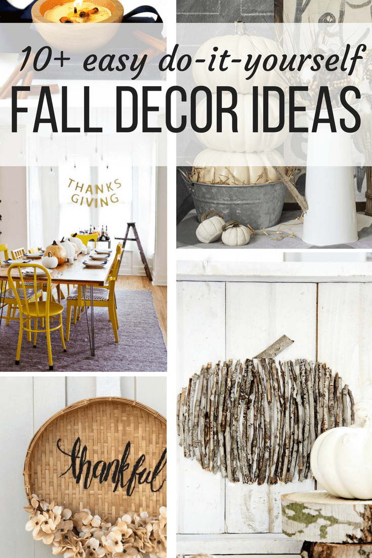 Quick, easy, and gorgeous DIY fall decor ideas for you to try this season.