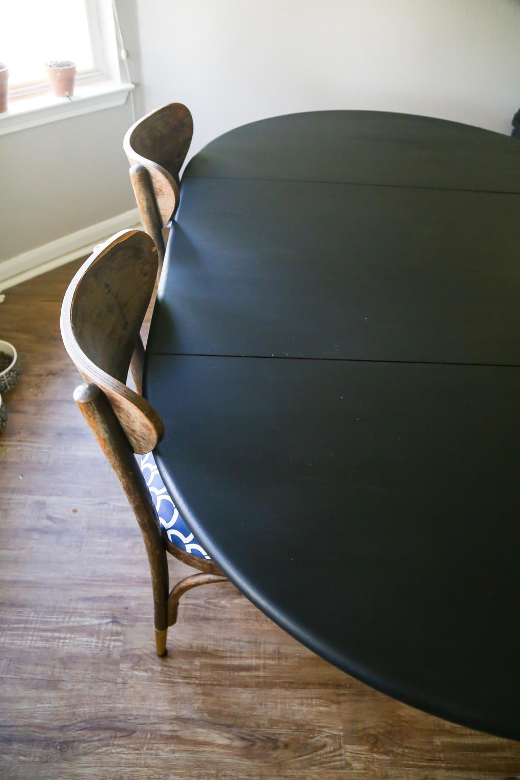 Rust-Oleum Milk Paint dining table makeover