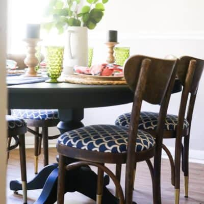 Using milk paint to refresh a piece of furniture - what is milk paint, and how do you use it?