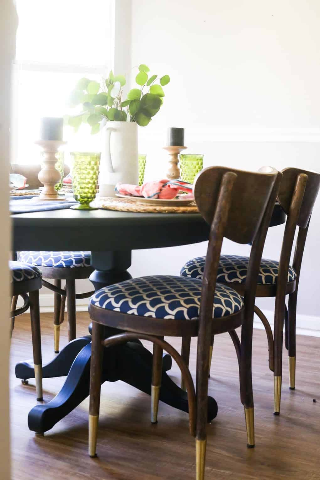 what kind of paint to use on dining room table | Milk Paint Dining Table Makeover | Love & Renovations