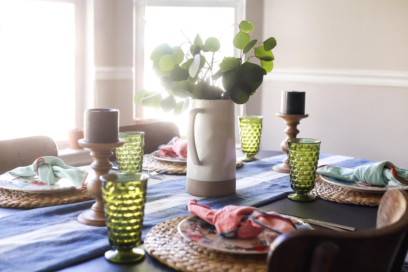 Spring dining room table