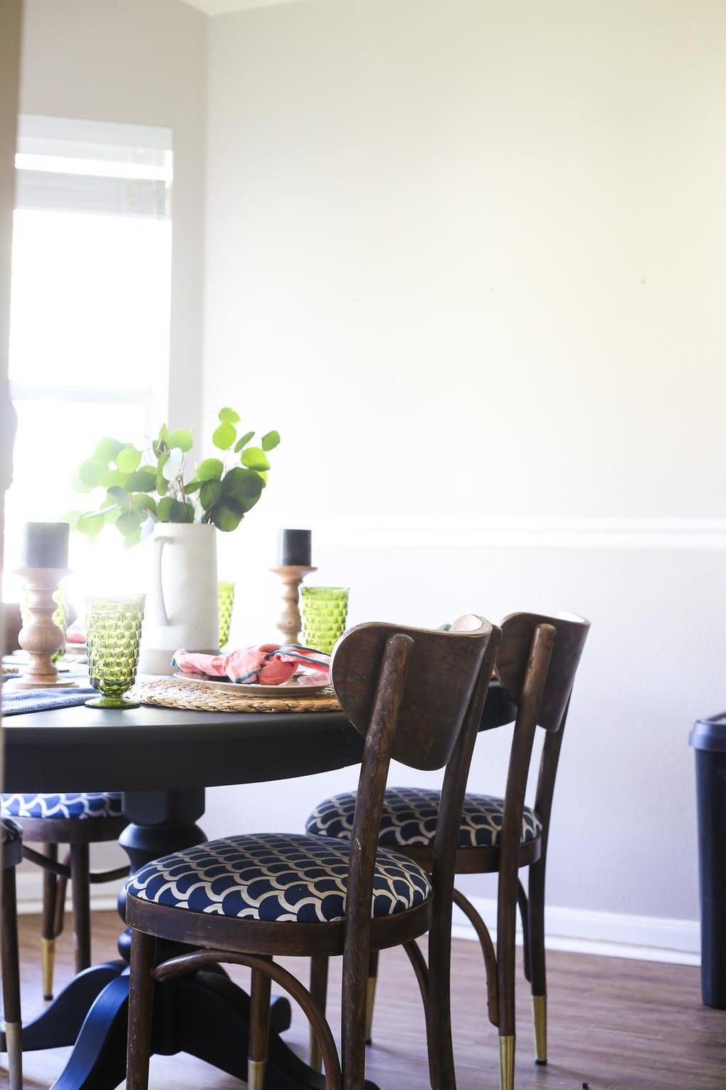 Spring home tour dining room