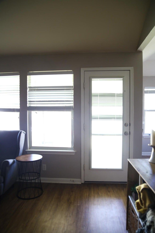 Living room before shot