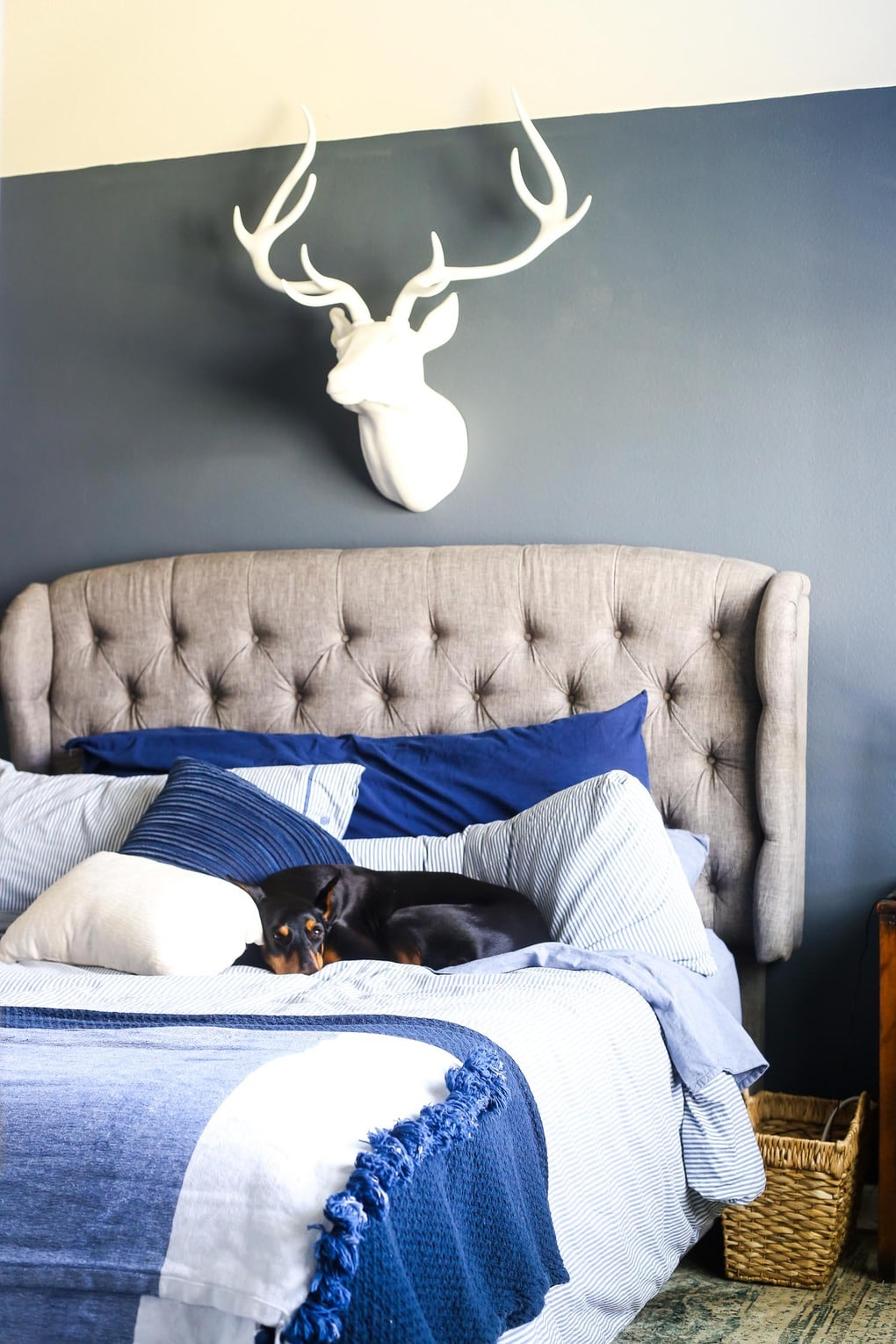 Master bedroom tour - gorgeous and cozy bed