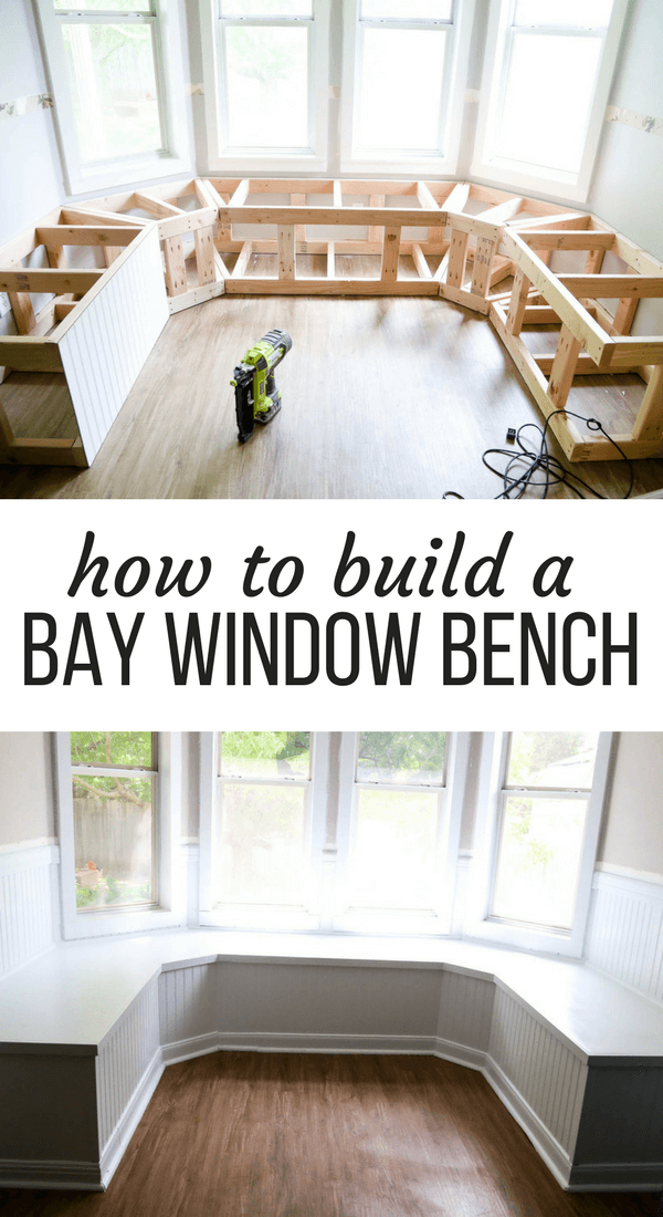 Diy Bay Window Bench Aka The Banquette Is Finished