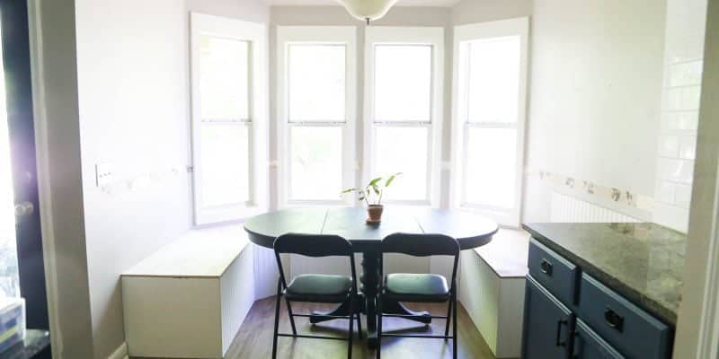 Dining room renovation - kitchen banquette